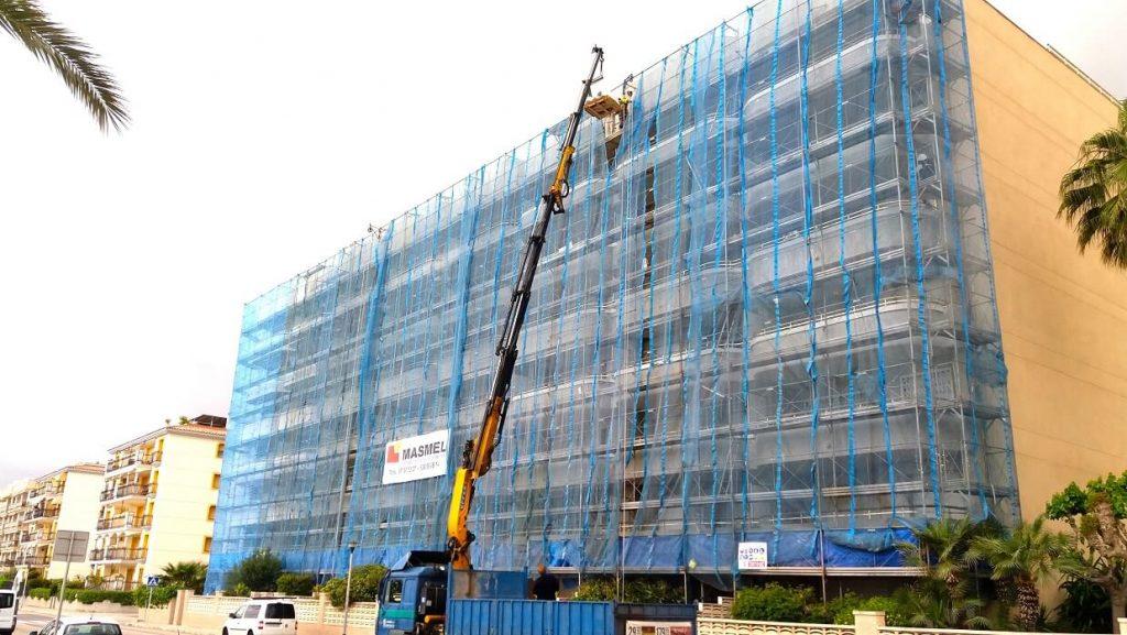 Rehabilitación y reforma de fachada Calafell