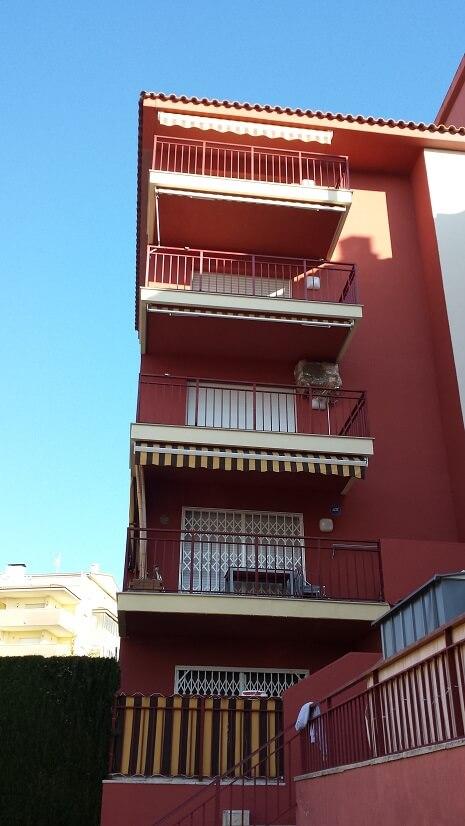 Rehabilitaciones de fachadas en Calafell