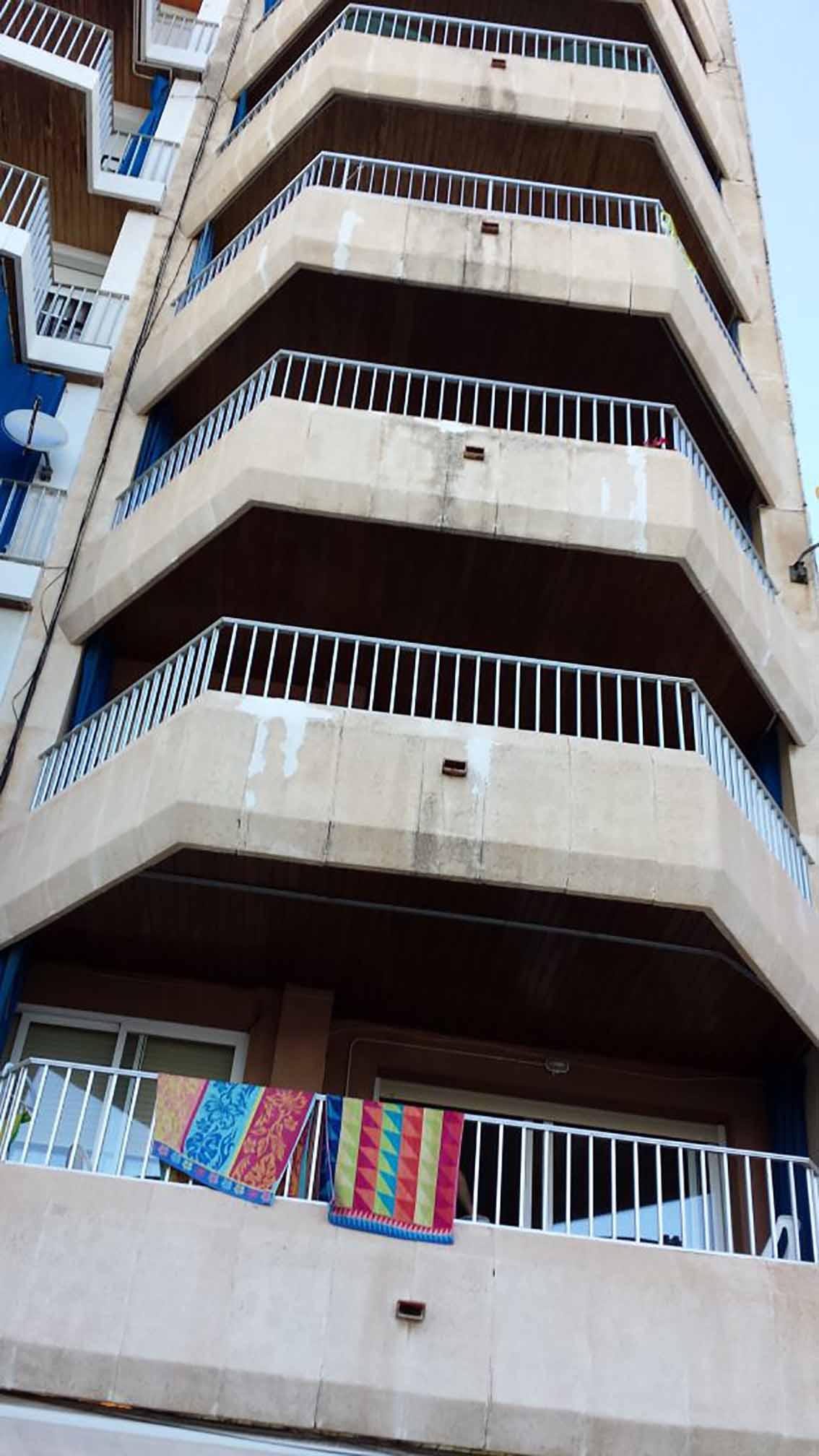 Recuperación fachada en calafell