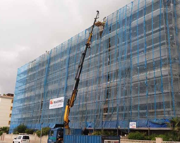 Rehabilitación de fachada en Calafell