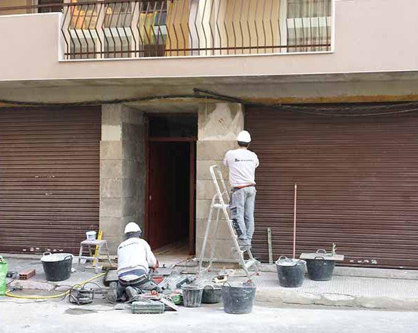 Rehabilitación de fachadas en Calafell