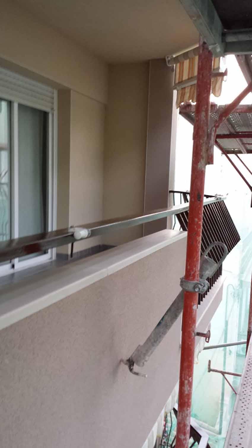 Mantenimiento de fachadas en Calafell
