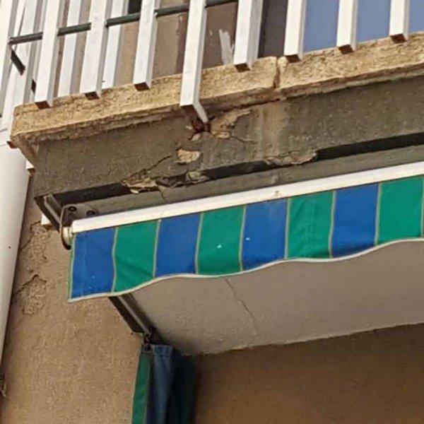 Reparación fachadas Calafell