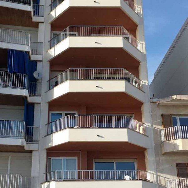 Rehabilitación Calafell fachadas